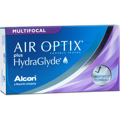 Air Optix plus HydraGlyde Multifocal (6 lenti)