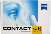 Contact Day 30 spheric (6 lenti)