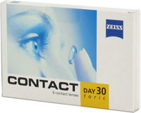 Contact Day 30 toric (3 lenti)