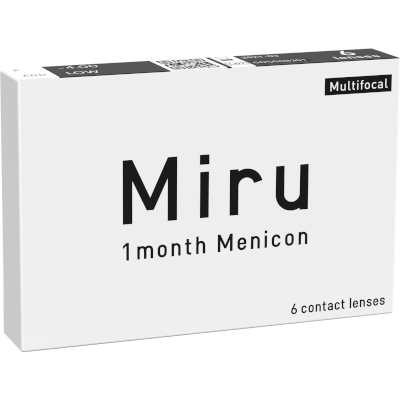 Miru 1 month Menicon Multifocal (6 lenti)